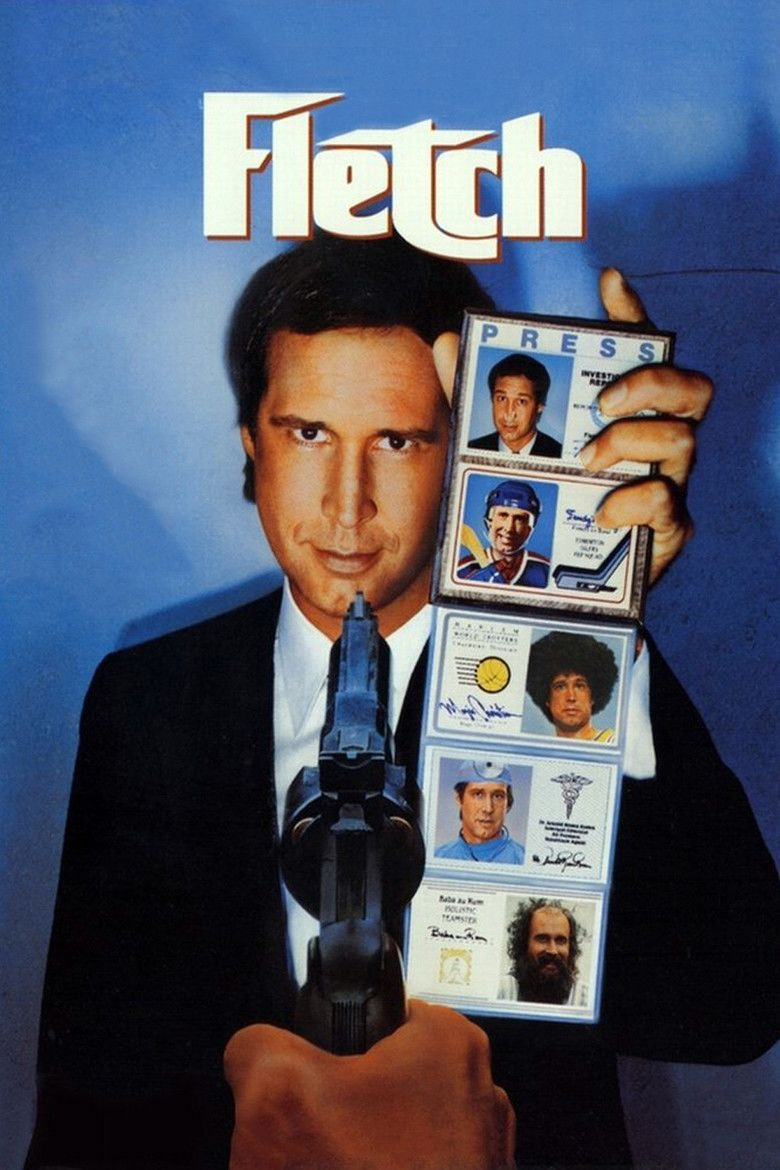 Fletch (film) movie poster
