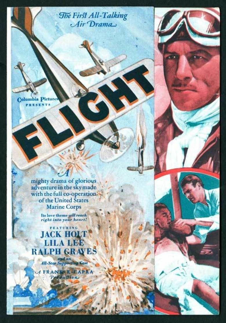 Flight (1929 film) movie poster
