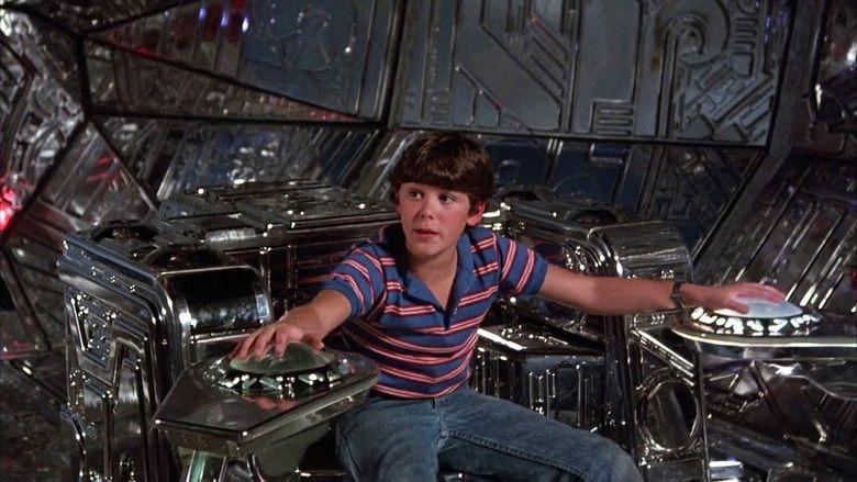 Flight of the Navigator movie scenes