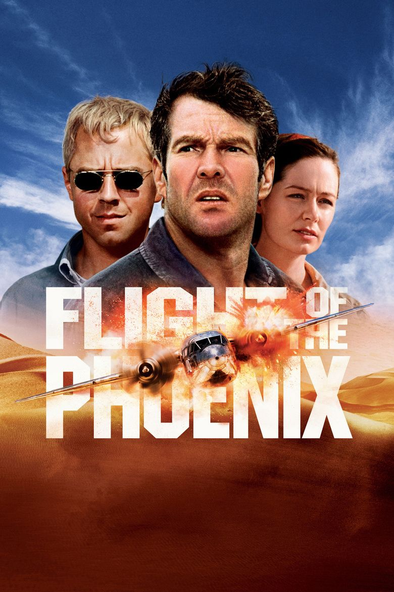 Flight of the Phoenix (2004 film) movie poster