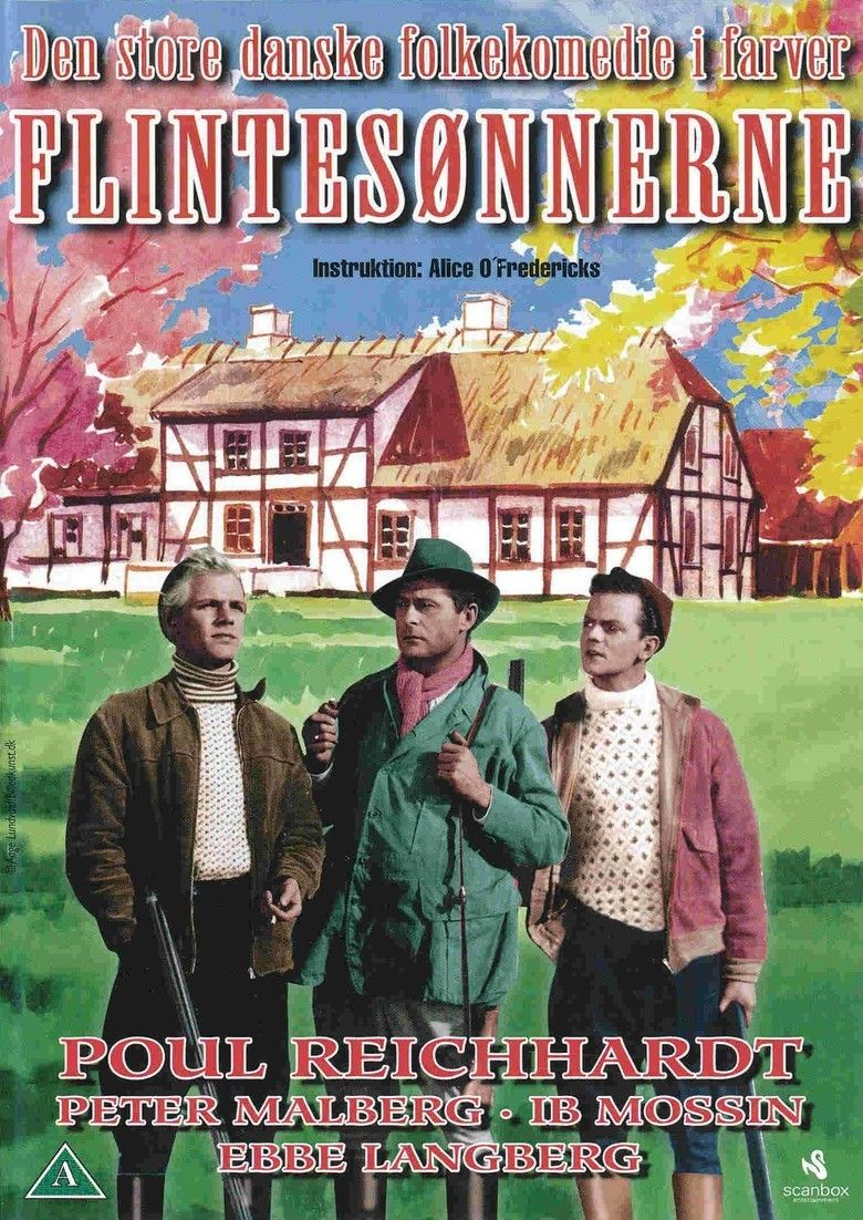 Flintesonnerne movie poster