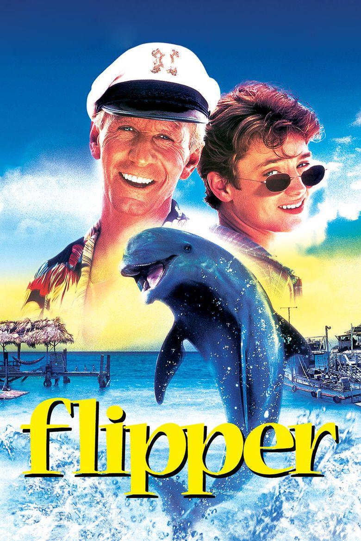 Flipper (1996 film) movie poster