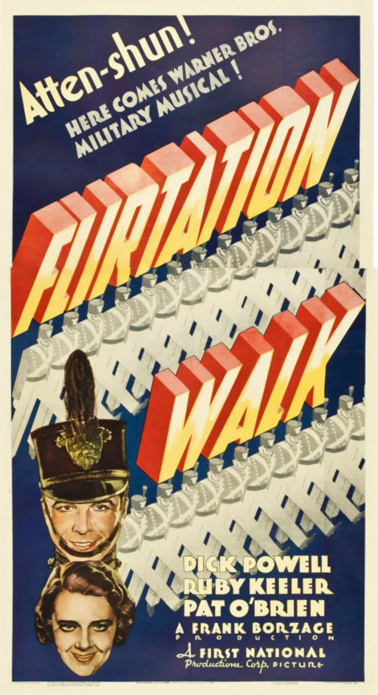Flirtation Walk movie poster