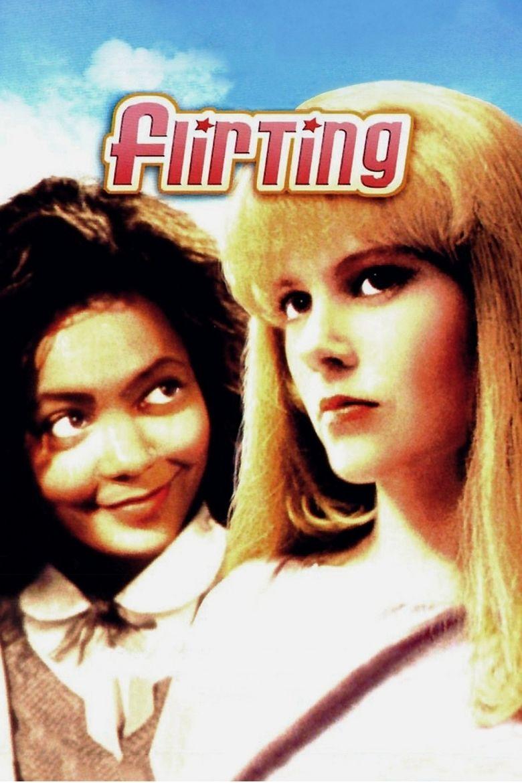 Flirting (film) movie poster