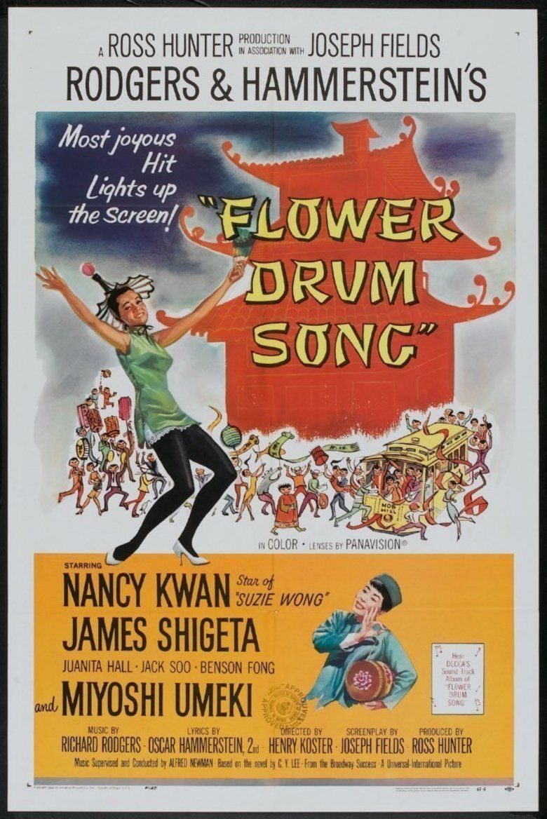 Flower Drum Song (film) movie poster