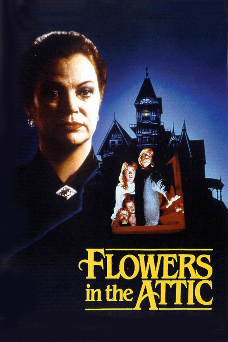 Flowers in the Attic (1987 film) movie poster