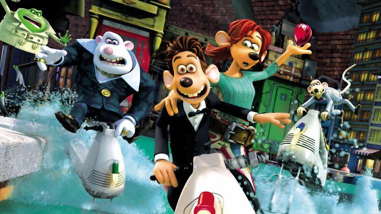 Flushed Away movie scenes