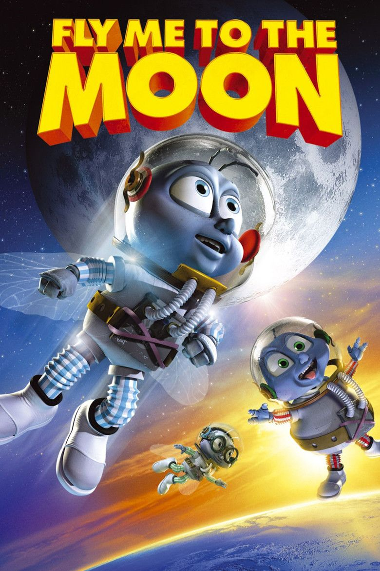 Fly Me to the Moon (film) movie poster