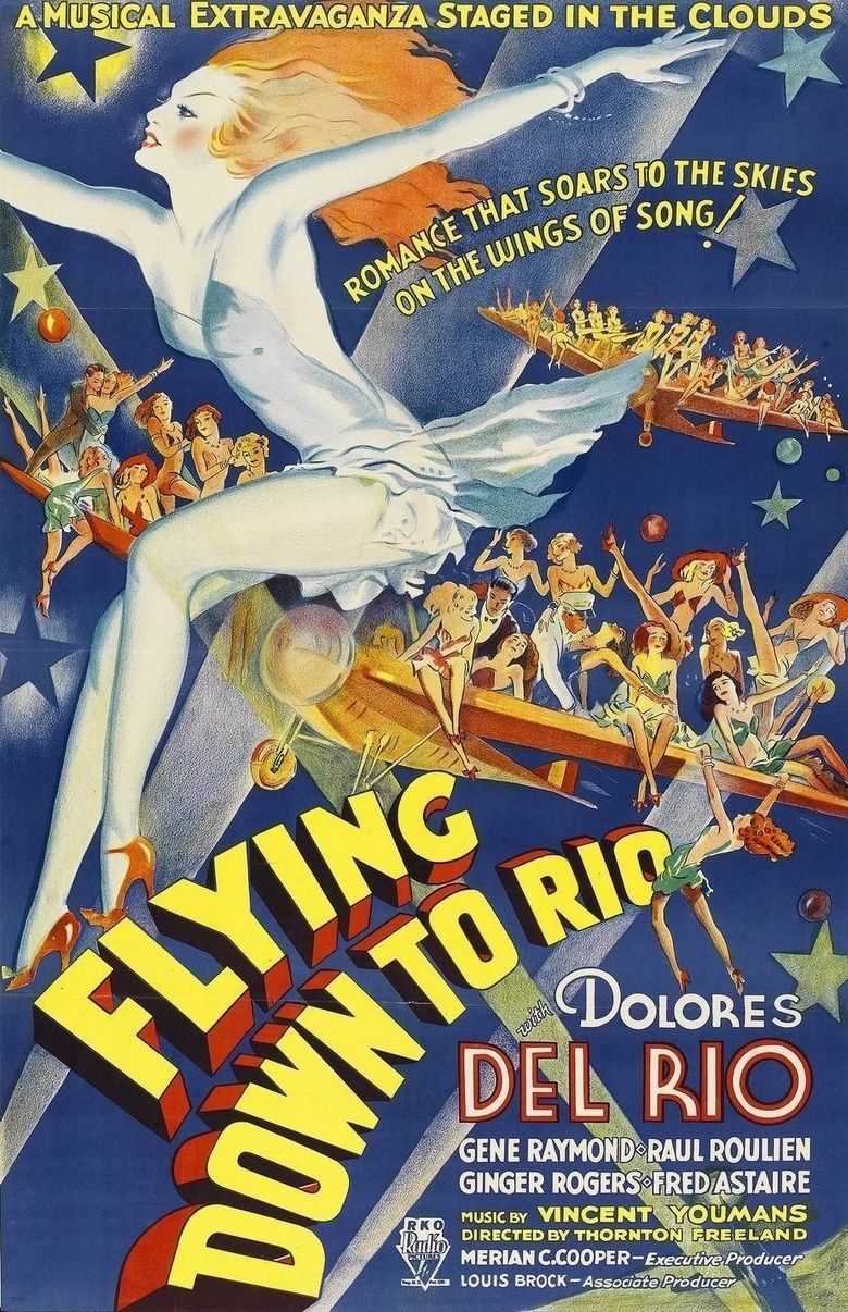 Flying Down to Rio movie poster