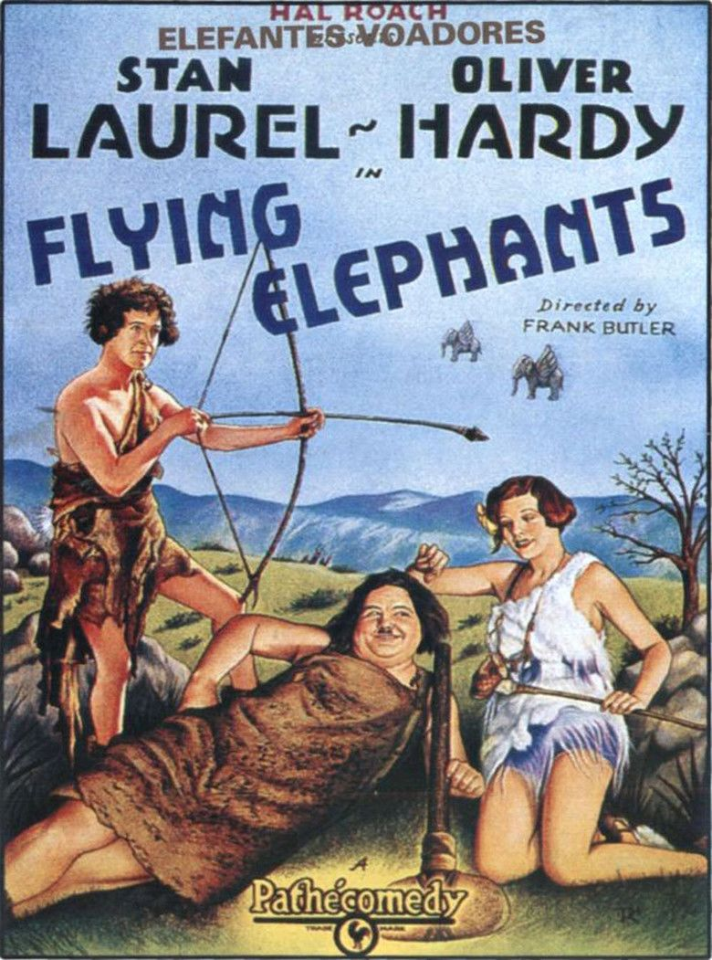 Flying Elephants movie poster