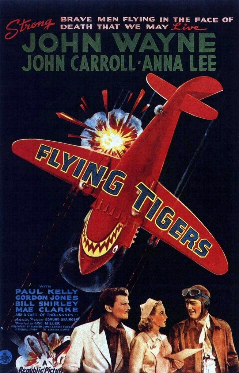 Flying Tigers (film) movie poster