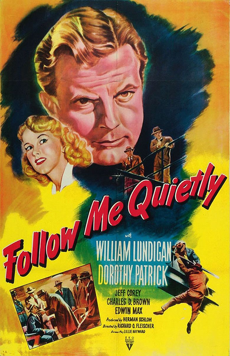 Follow Me Quietly movie poster