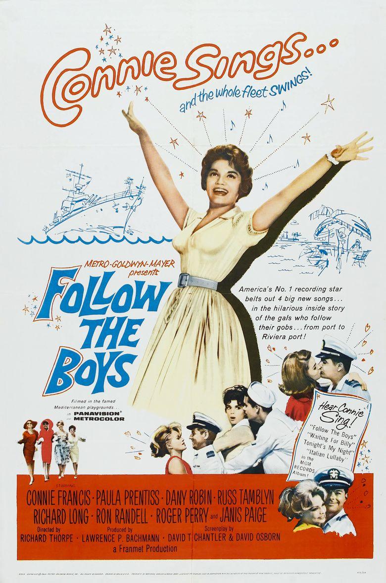 Follow the Boys (1963 film) movie poster