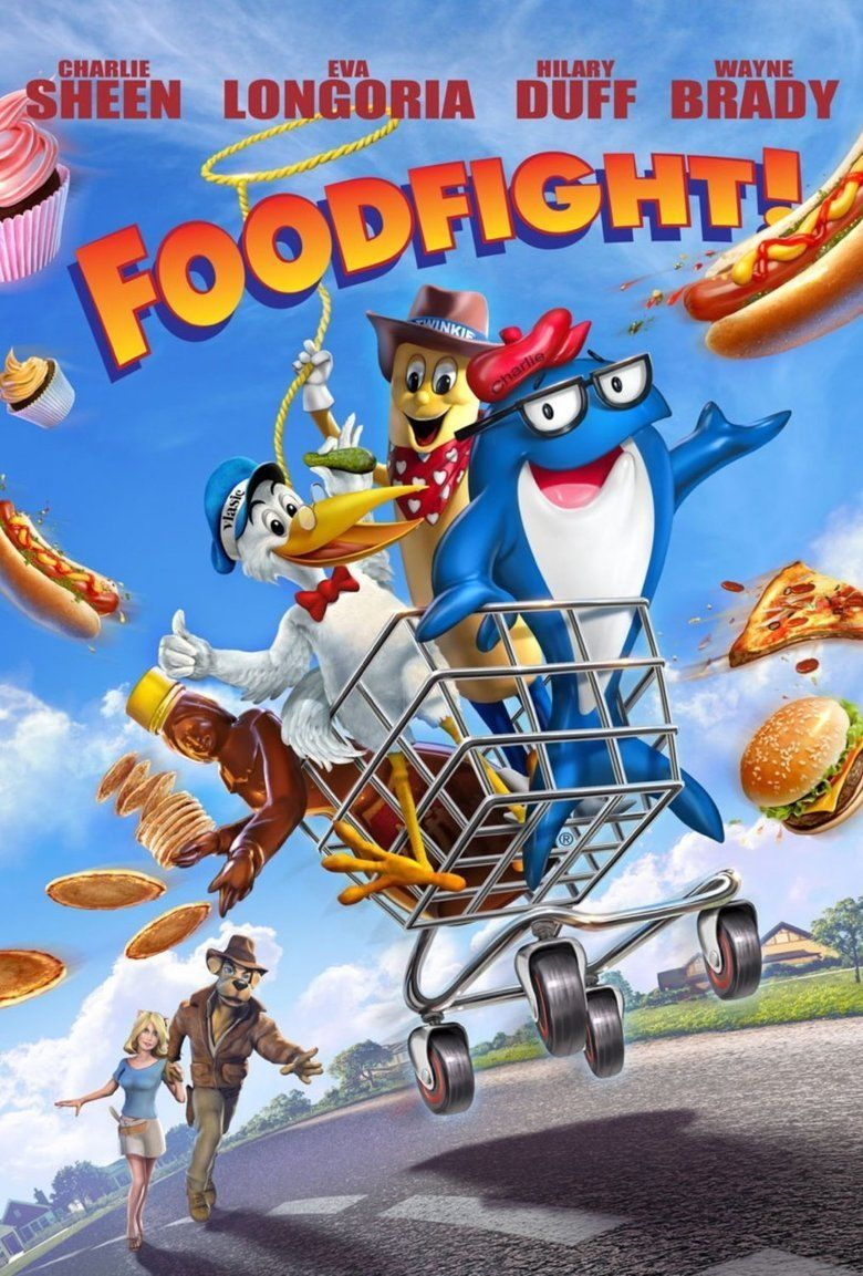 Foodfight! movie poster