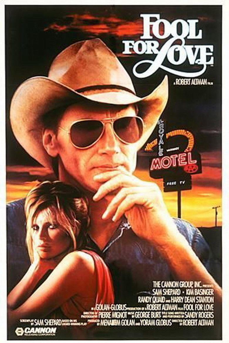 Fool for Love (film) movie poster