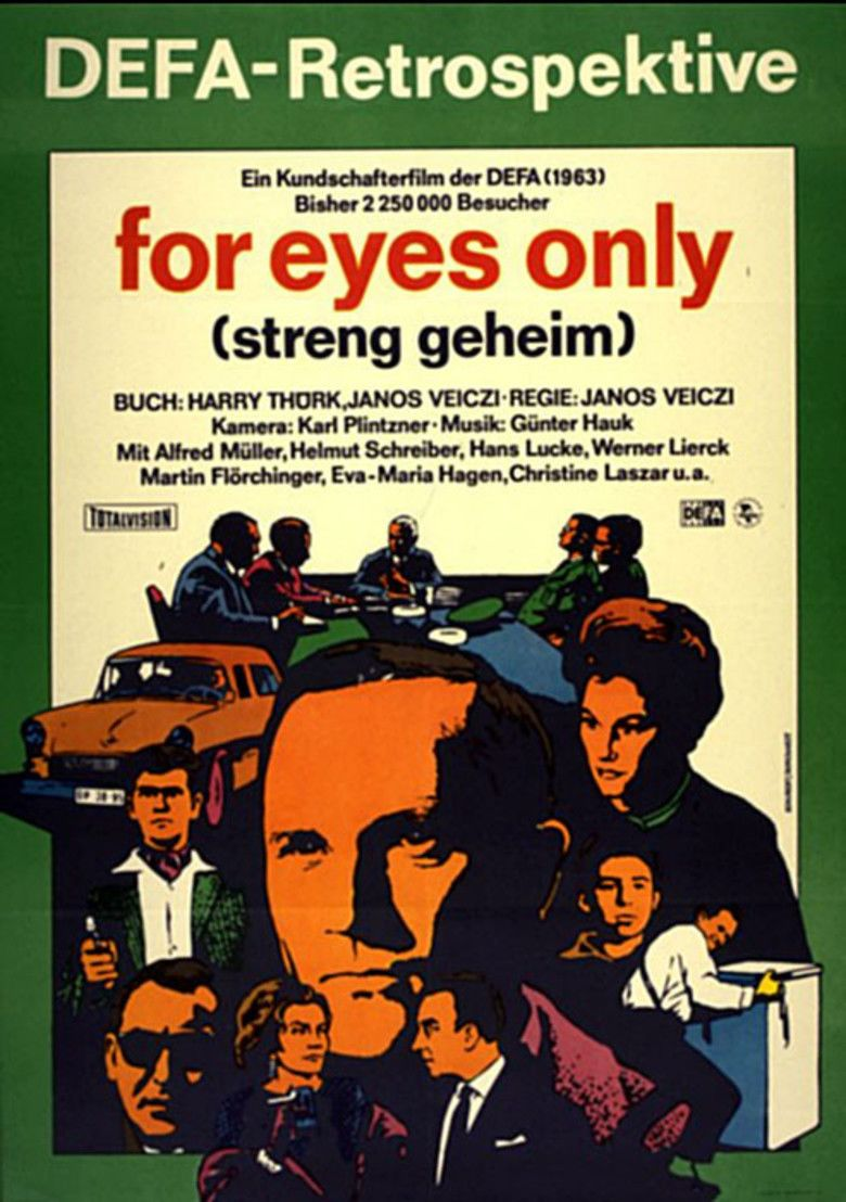 For Eyes Only movie poster