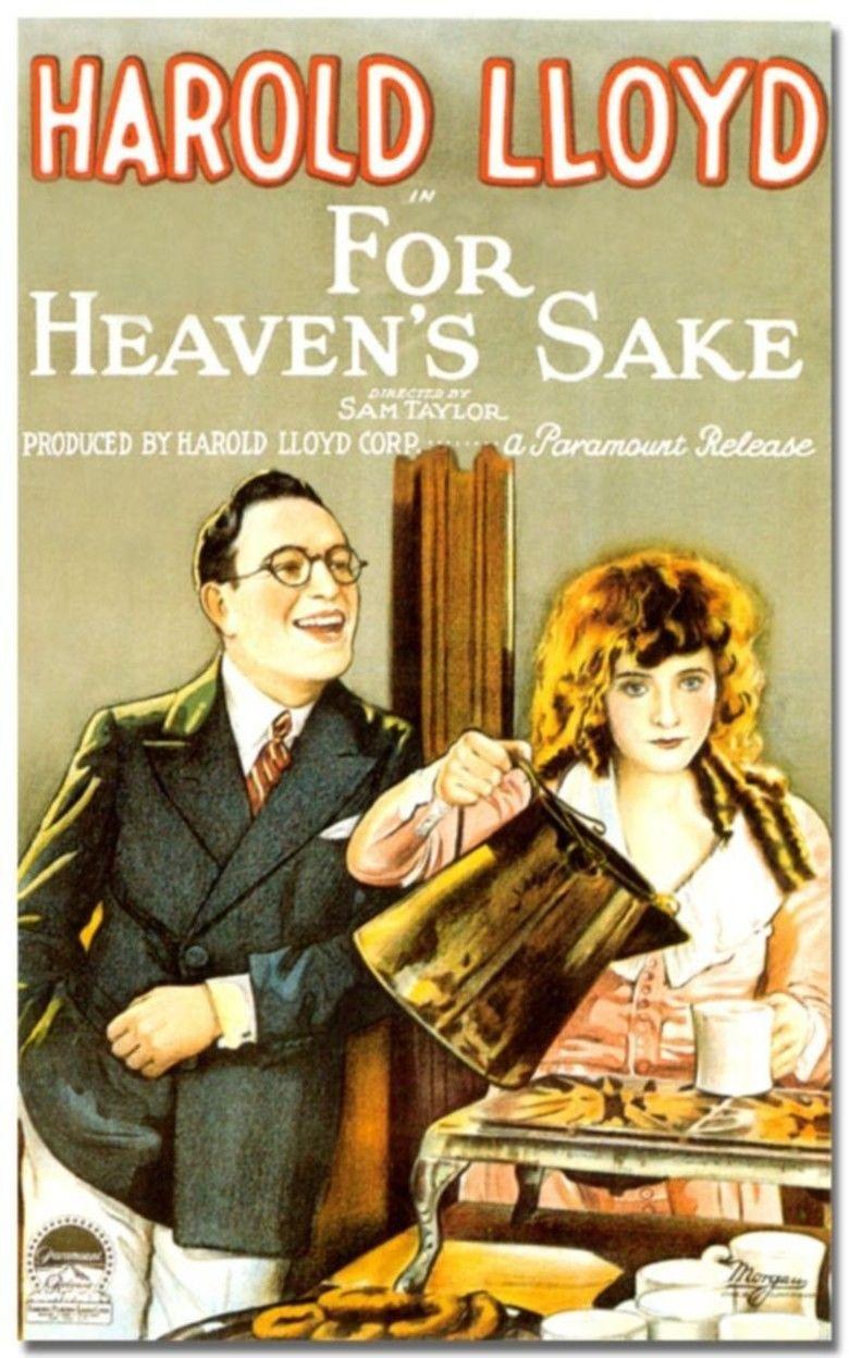 For Heavens Sake (1926 film) movie poster