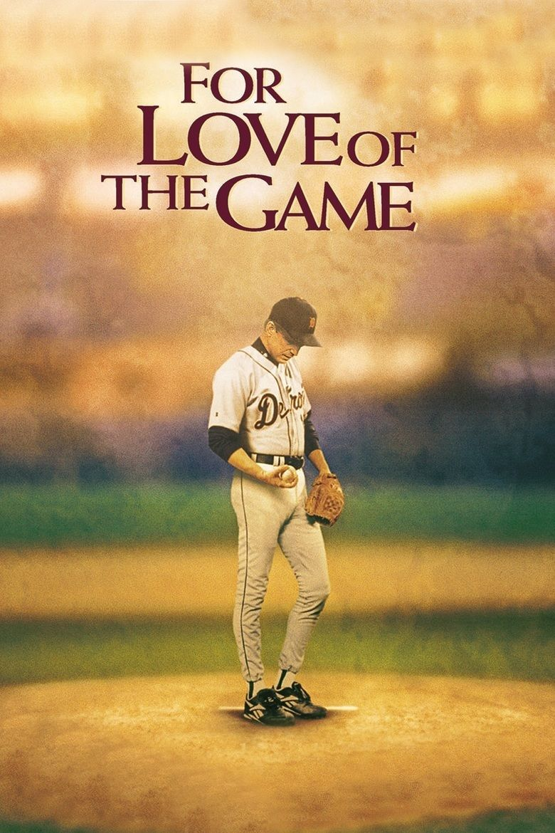 For Love of the Game (film) movie poster