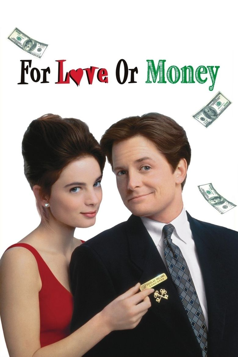 For Love or Money (1993 film) movie poster