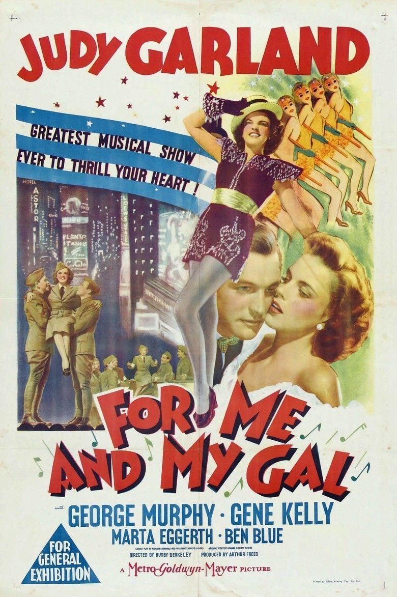 For Me and My Gal (film) movie poster