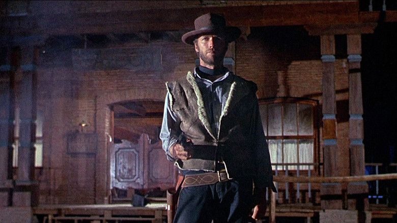 For a Few Dollars More movie scenes