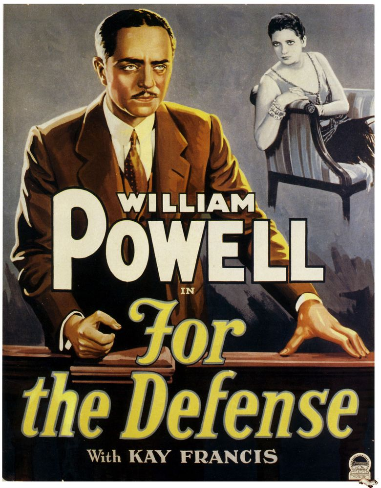 For the Defense movie poster