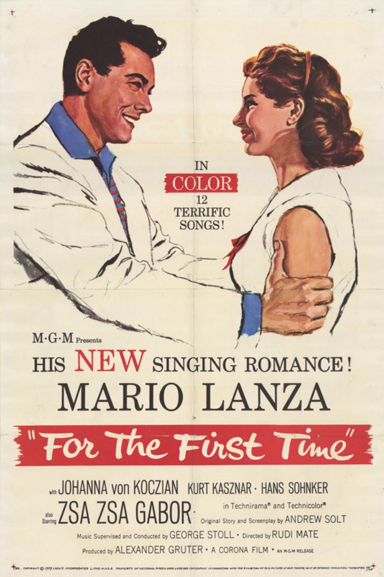 For the First Time (1959 film) movie poster