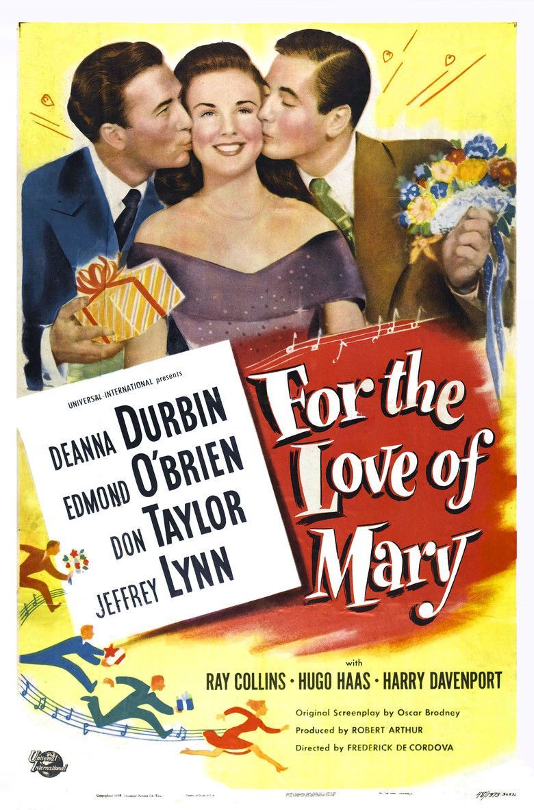 For the Love of Mary movie poster