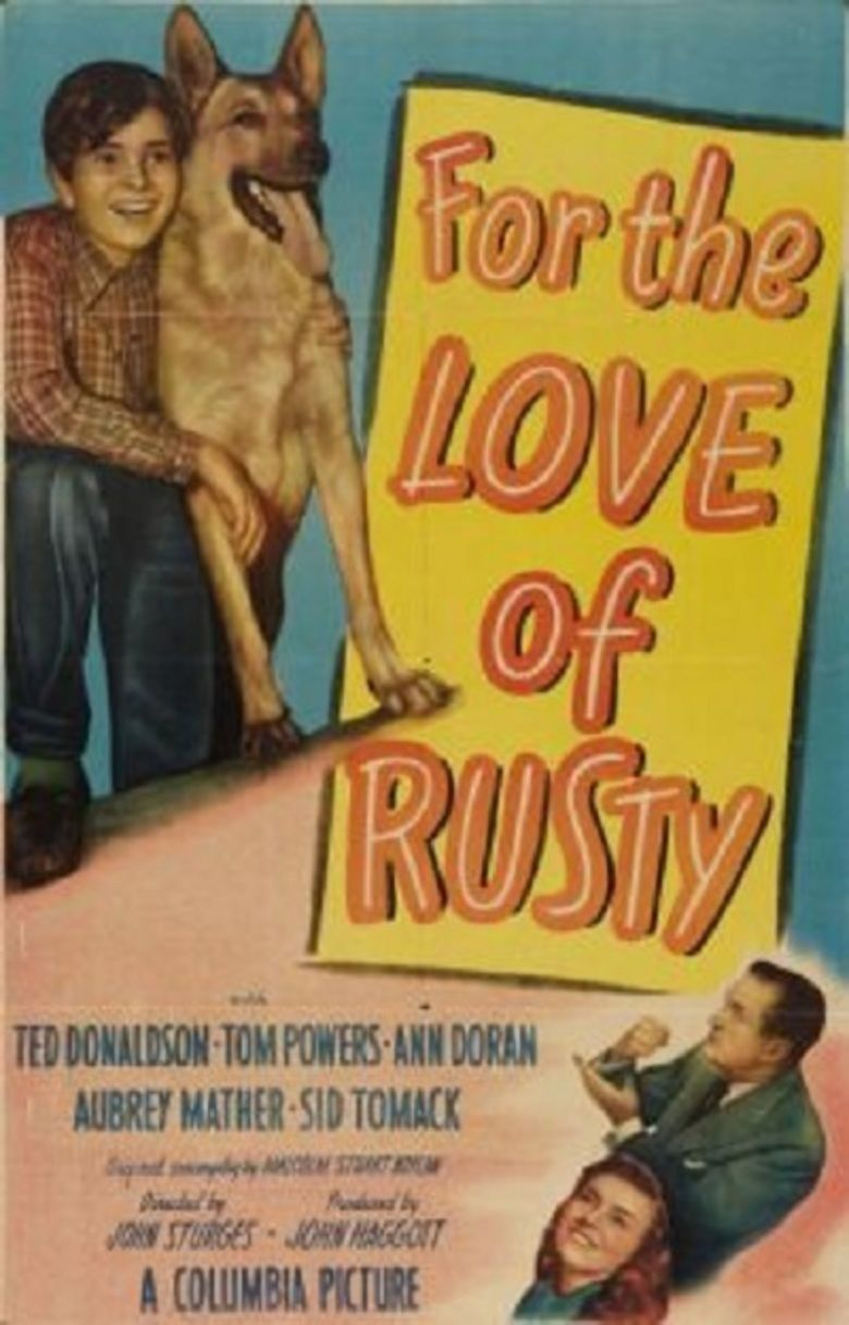 For the Love of Rusty movie poster