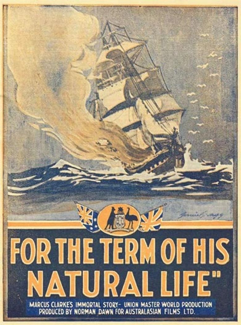 For the Term of His Natural Life (1927 film) movie poster