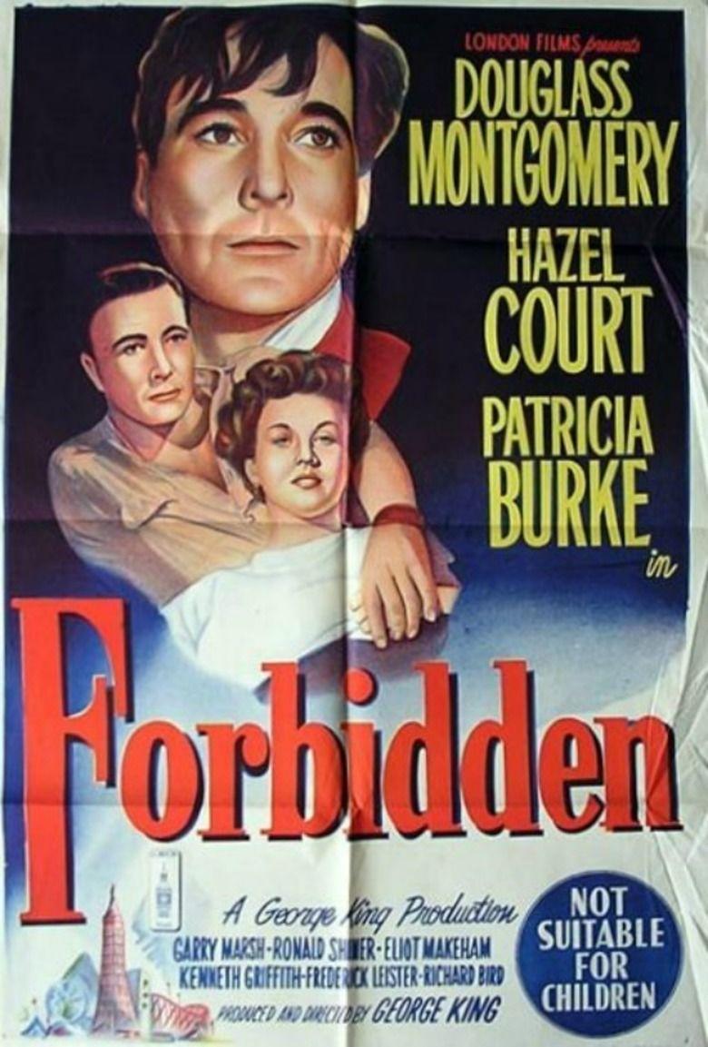 Forbidden (1949 film) movie poster