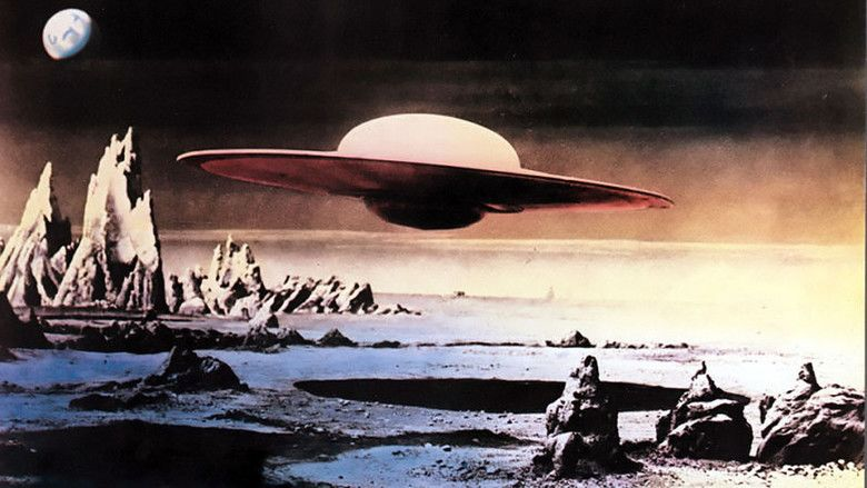 Forbidden Planet movie scenes