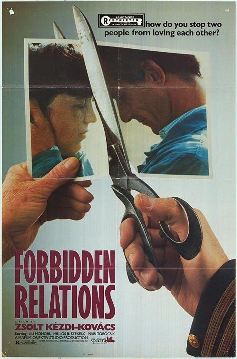 Forbidden Relations movie poster