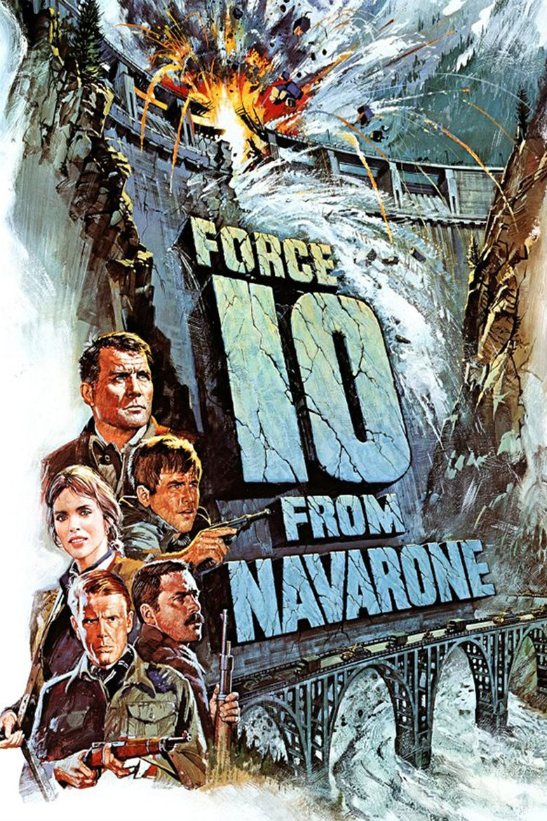 Force 10 from Navarone (film) movie poster