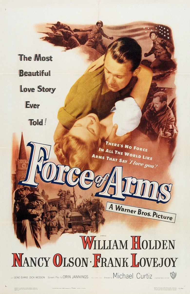 Force of Arms movie poster