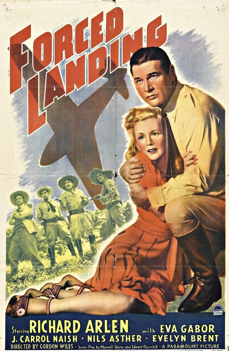 Forced Landing (film) movie poster