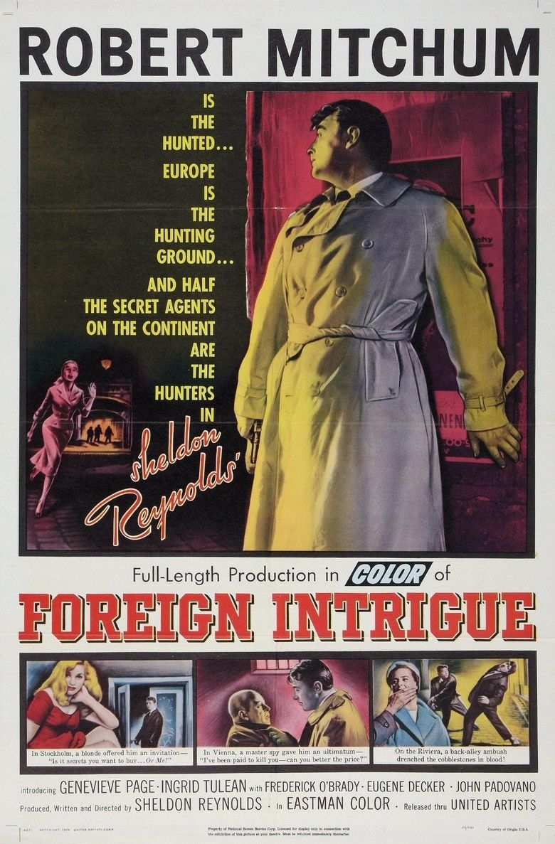 Foreign Intrigue (film) movie poster