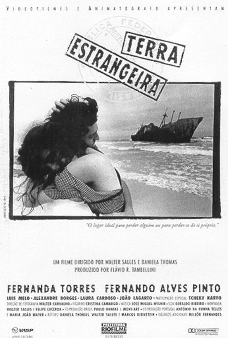 Foreign Land (film) movie poster