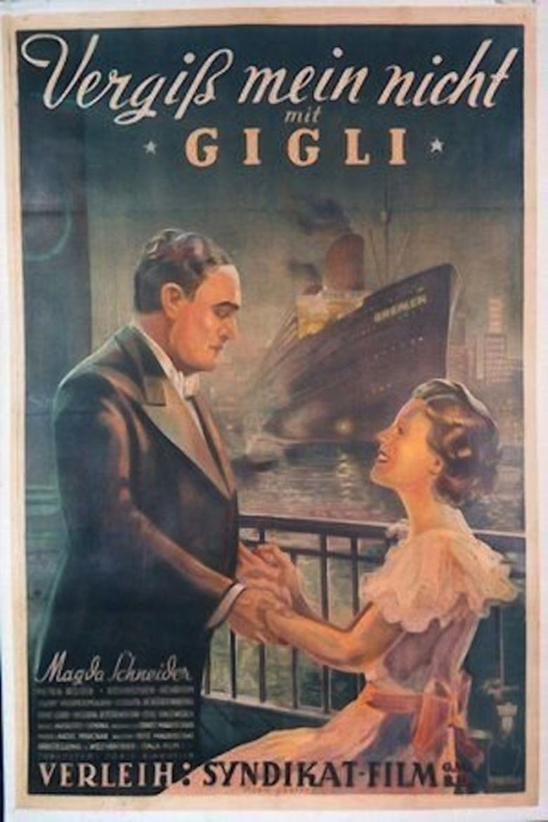 Forget Me Not (1936 film) movie poster