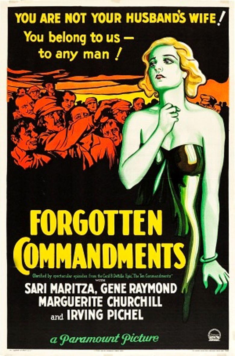 Forgotten Commandments movie poster