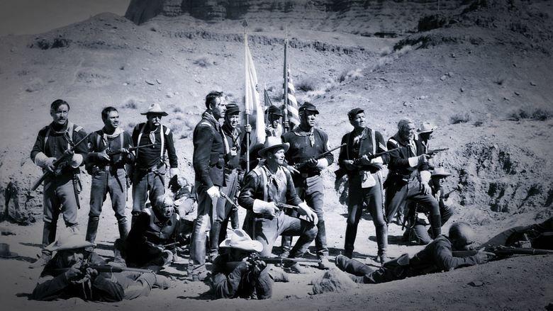 Fort Apache (film) movie scenes