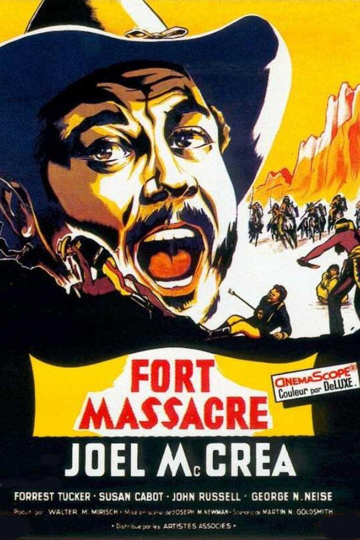Fort Massacre movie poster
