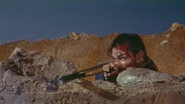 Fort Massacre movie scenes