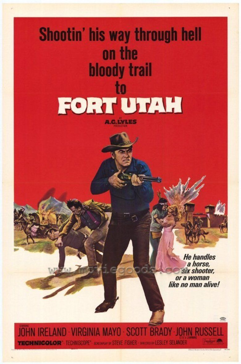 Fort Utah (film) movie poster