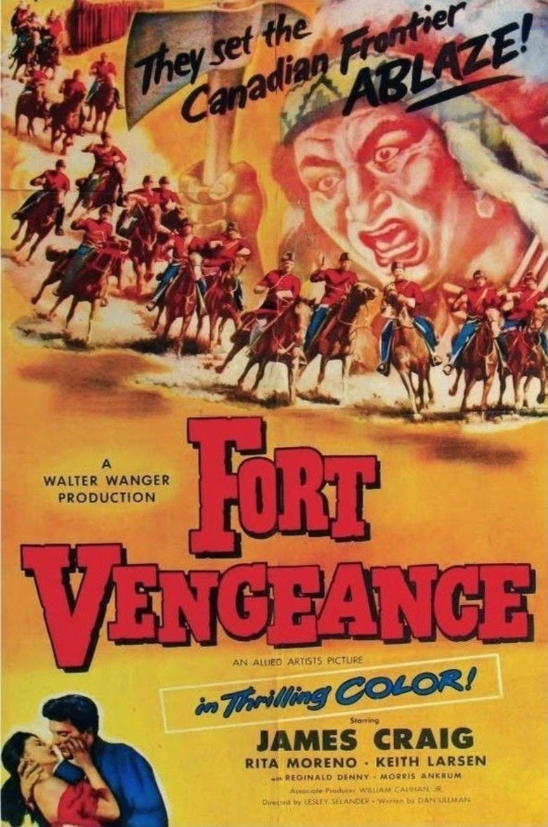 Fort Vengeance movie poster