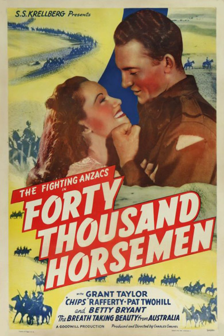 Forty Thousand Horsemen movie poster