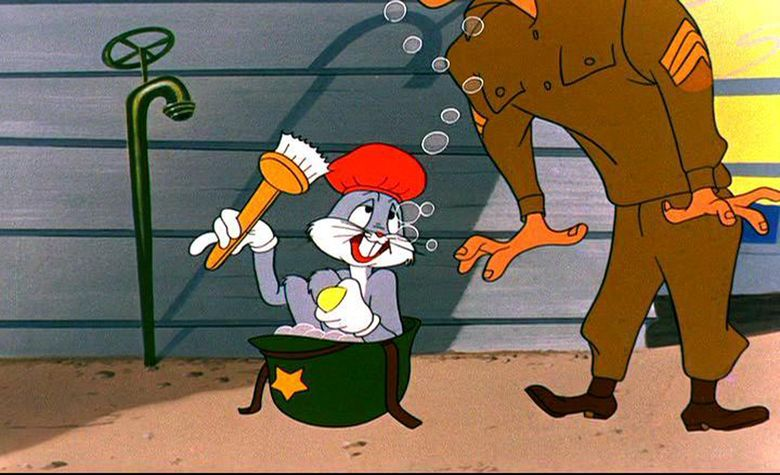 Forward March Hare movie scenes