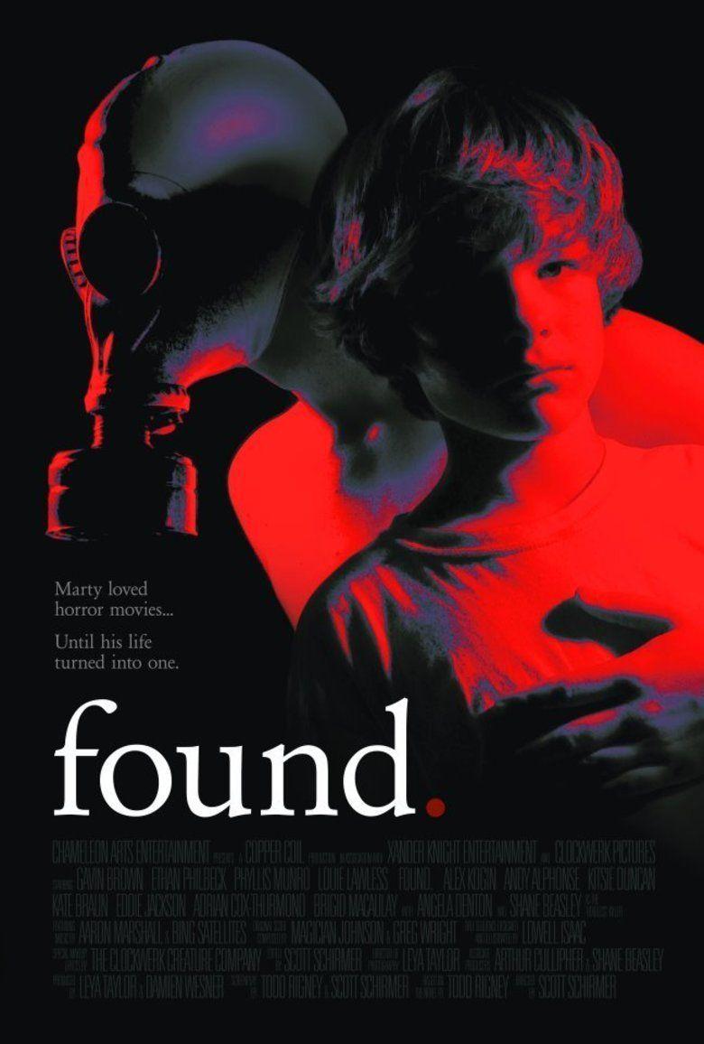 Found (film) movie poster