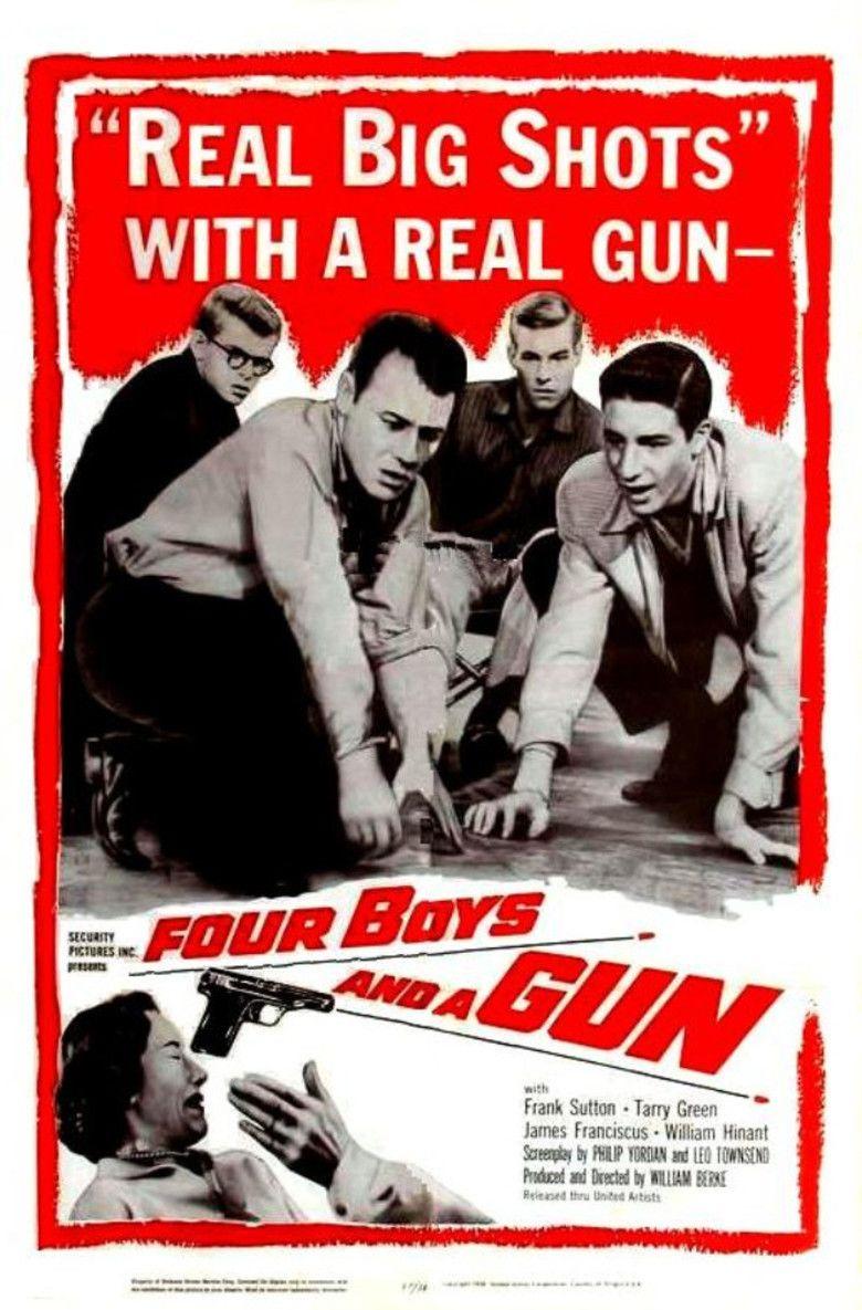 Four Boys and a Gun movie poster