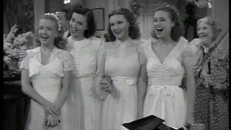 Four Daughters movie scenes